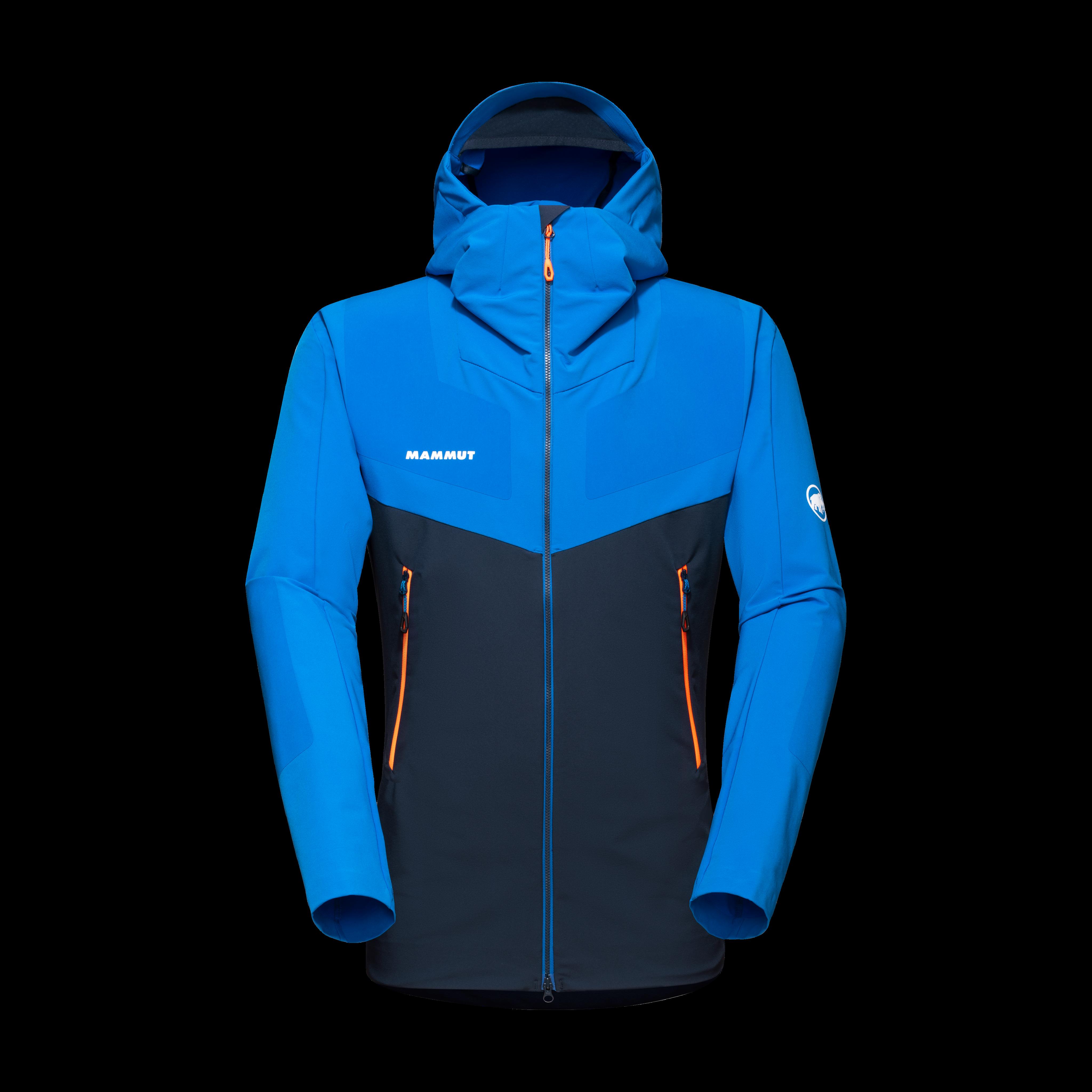 Aenergy Pro SO Hooded Jacket Men - L, marine-ice thumbnail