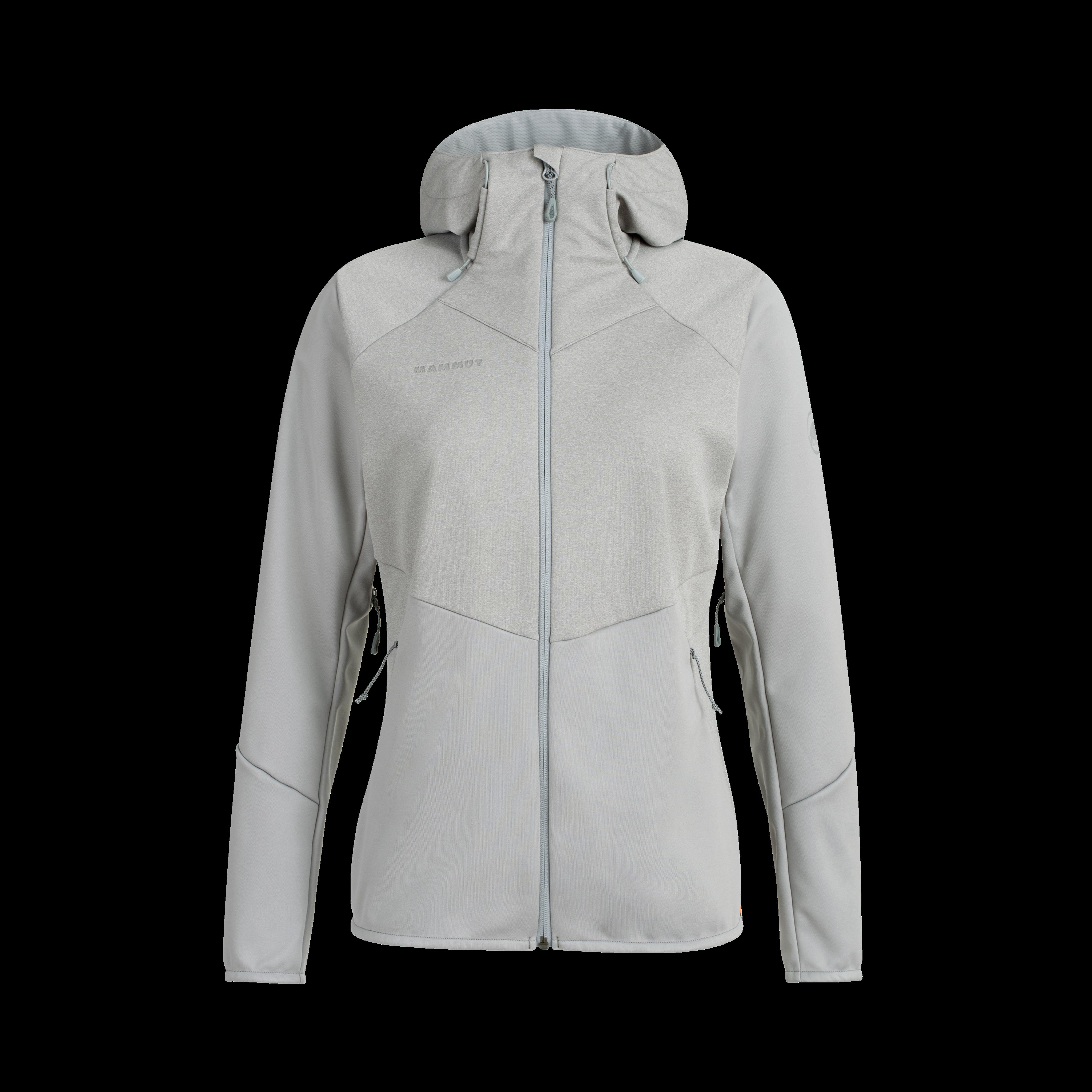 Ultimate VI SO Hooded Jacket Women - granit-granit melange, L thumbnail