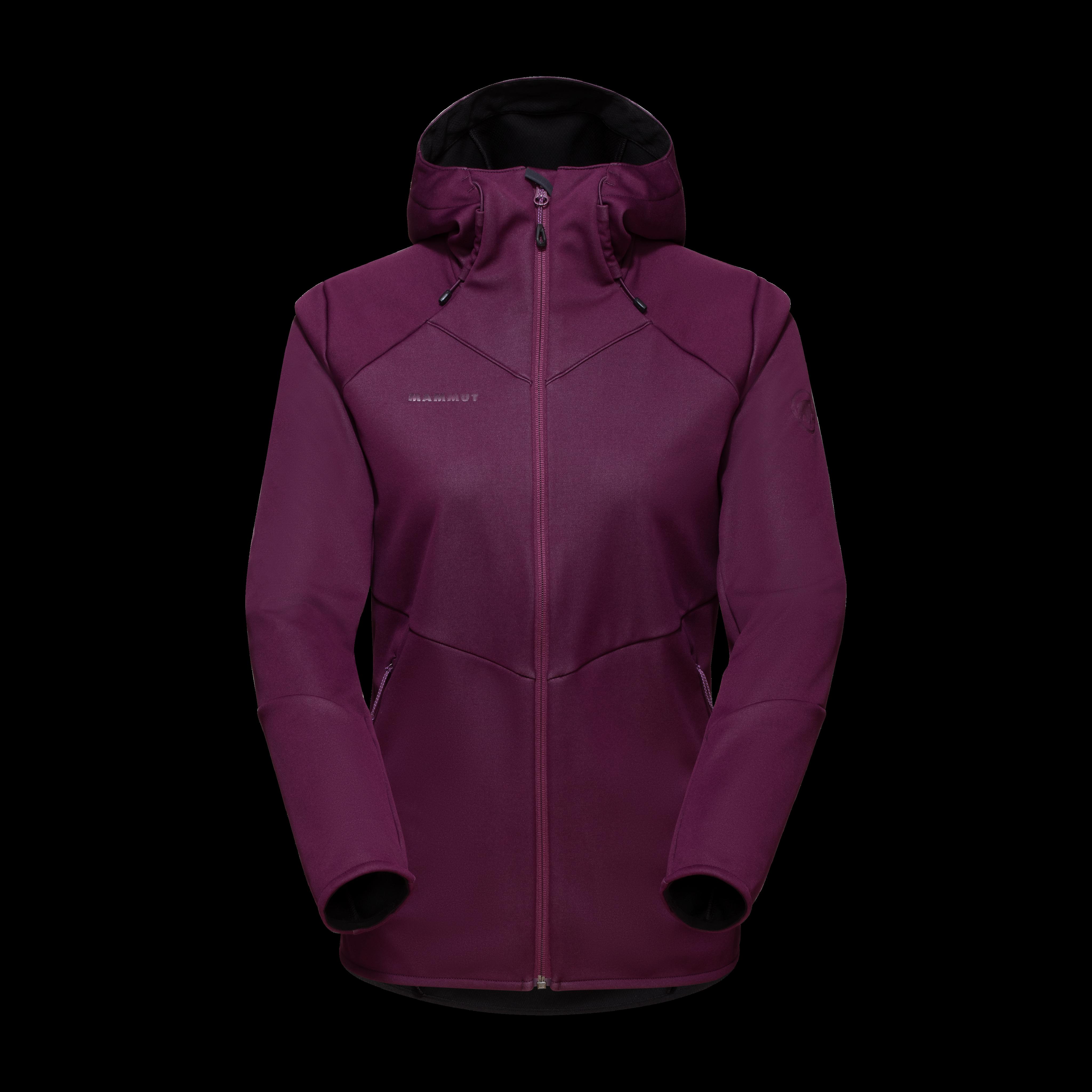 Ultimate VI SO Hooded Jacket Women - grape, XXL thumbnail