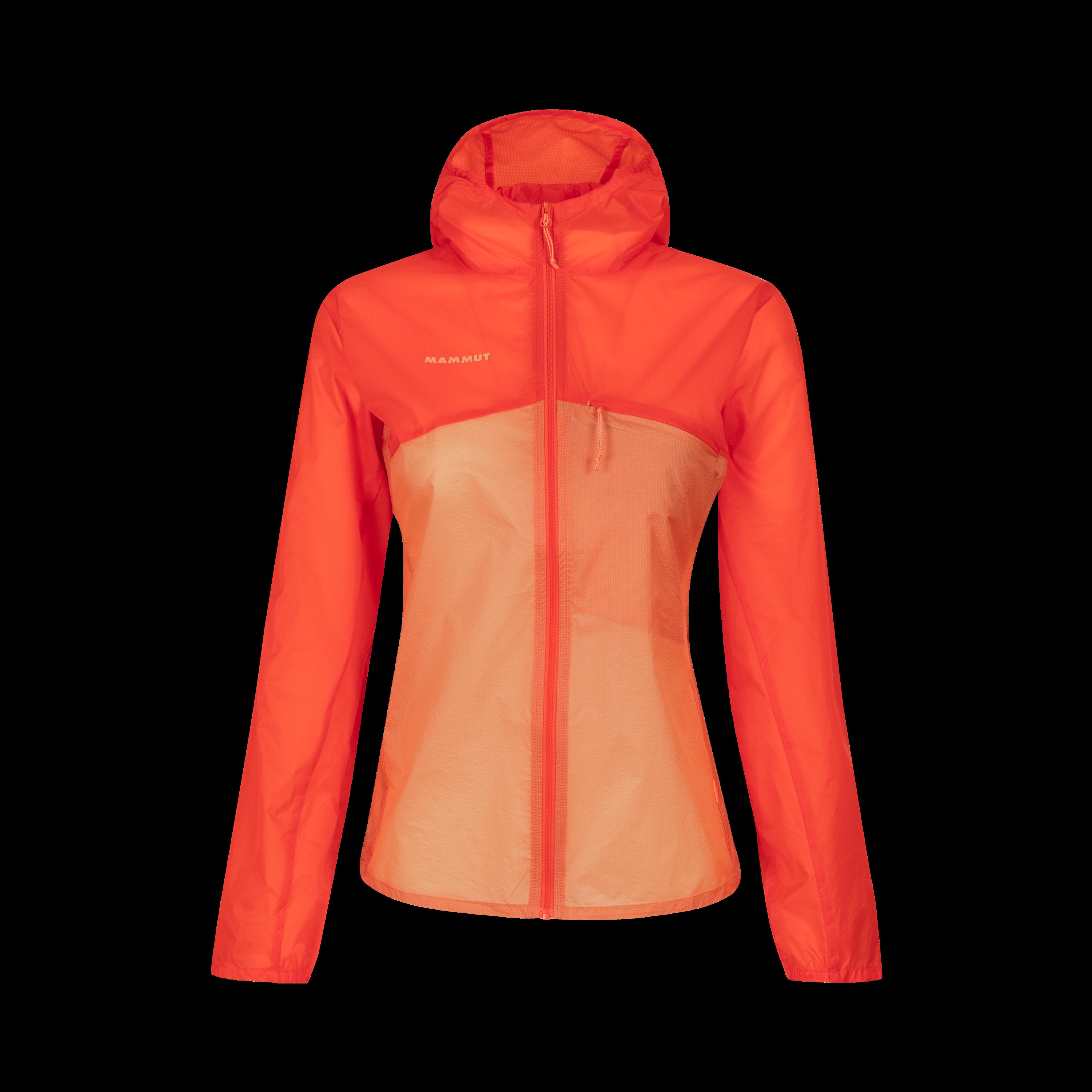 Convey WB Hooded Jacket Women - M, poinciana-baked thumbnail