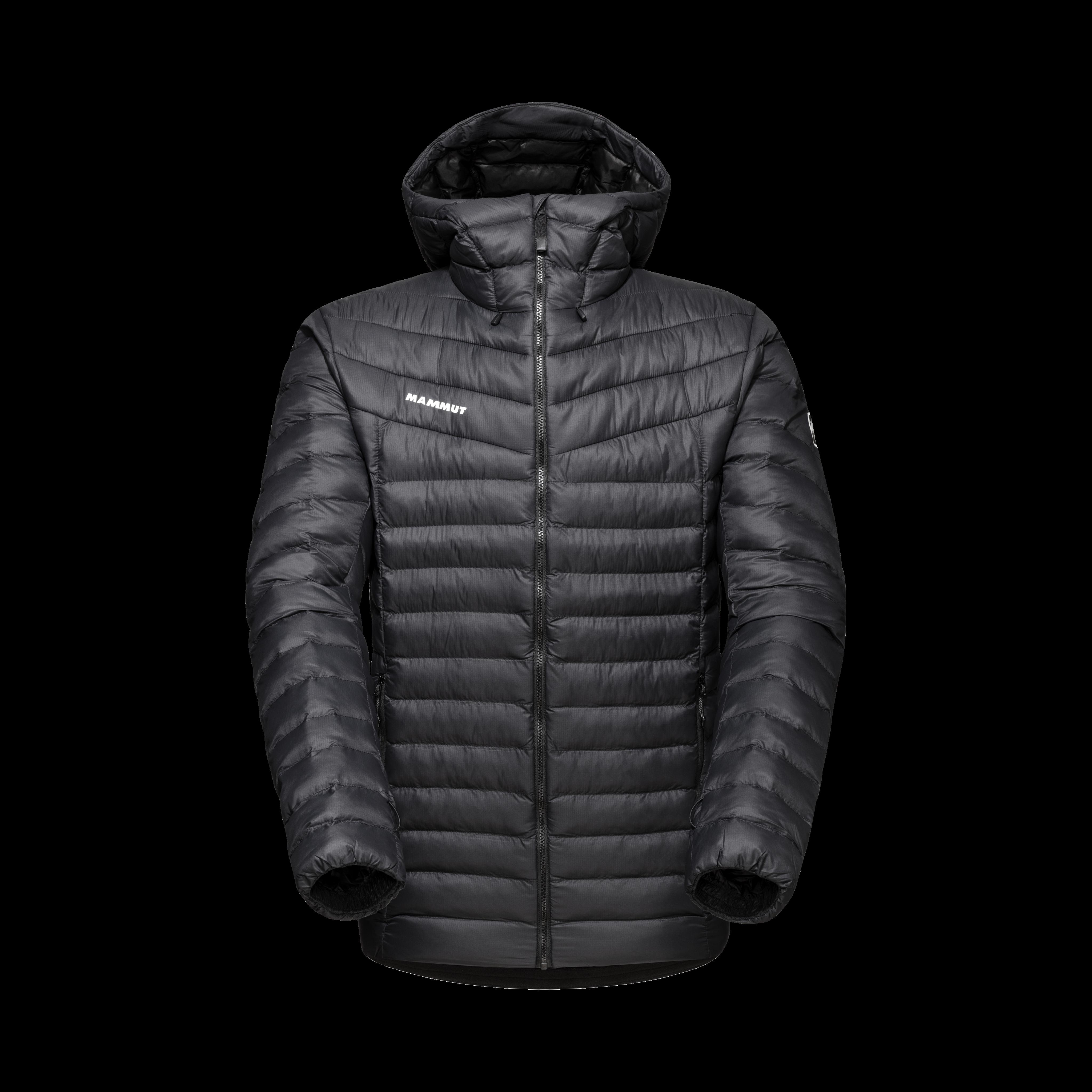Albula IN Hooded Jacket Men - black-white, L thumbnail