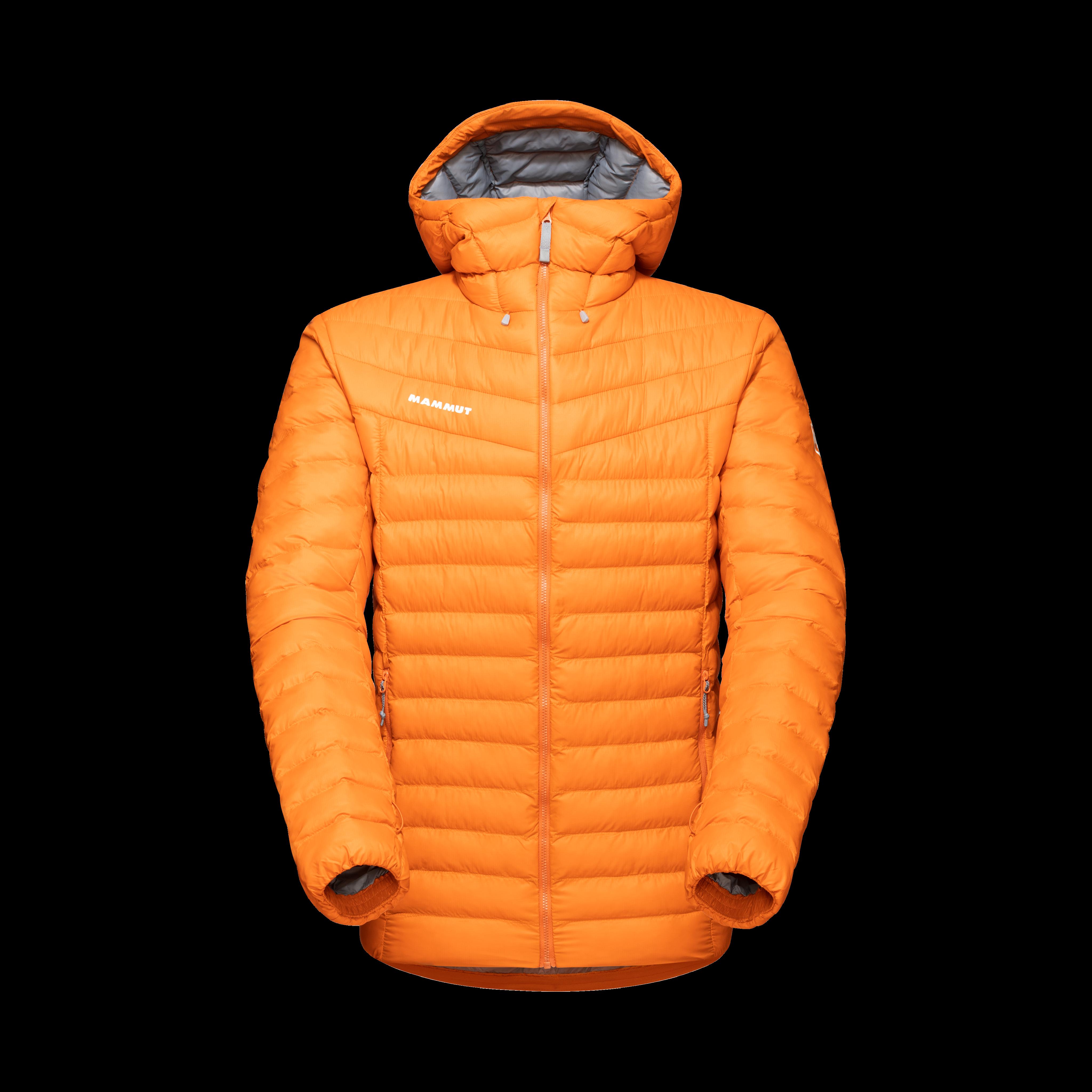 Albula IN Hooded Jacket Men - dark cheddar, M thumbnail