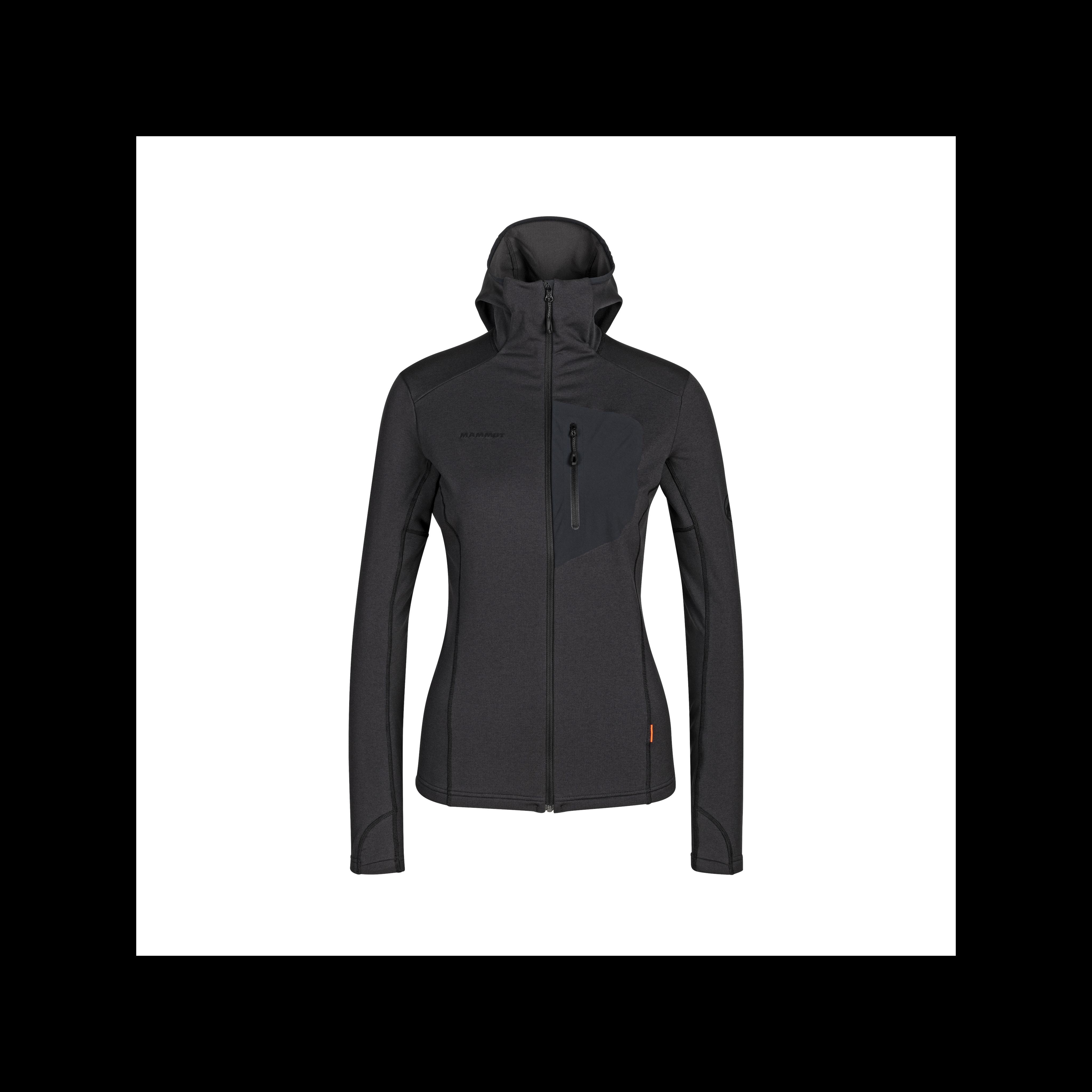 Aconcagua Light ML Hooded Jacket Women - black-black, L thumbnail