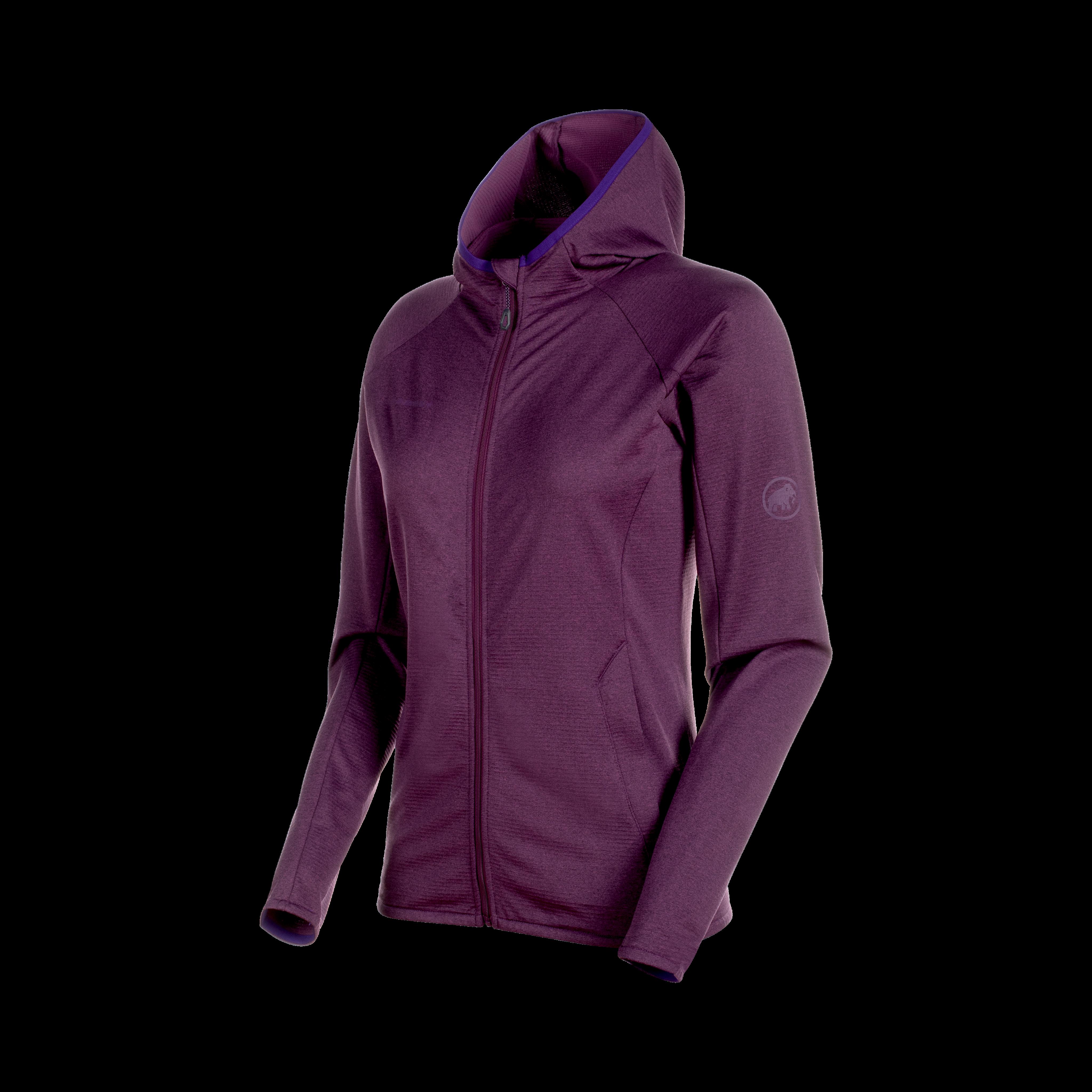 Nair ML Hooded Jacket Women - galaxy melange, L thumbnail