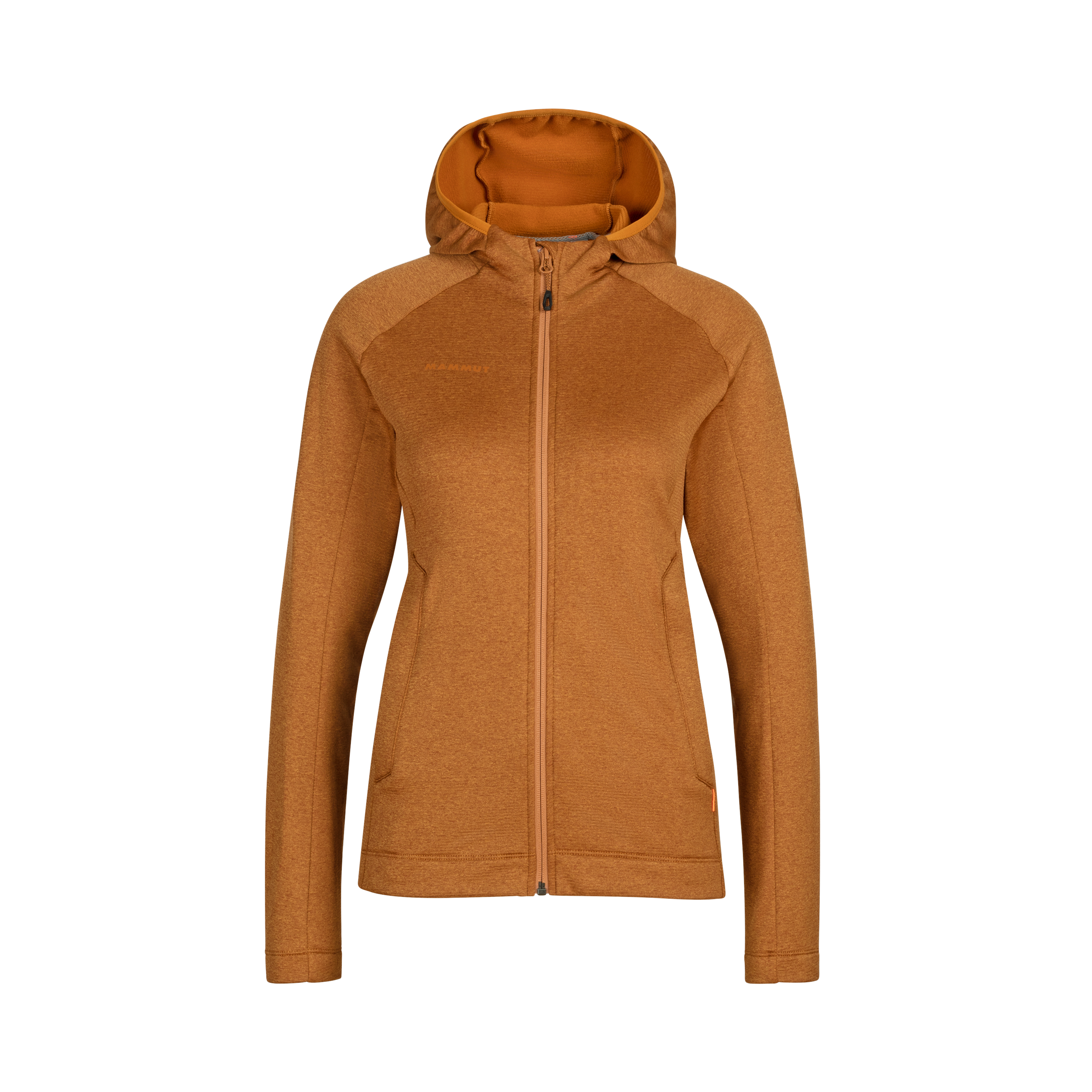 Nair ML Hooded Jacket Women - S, tumeric melange thumbnail