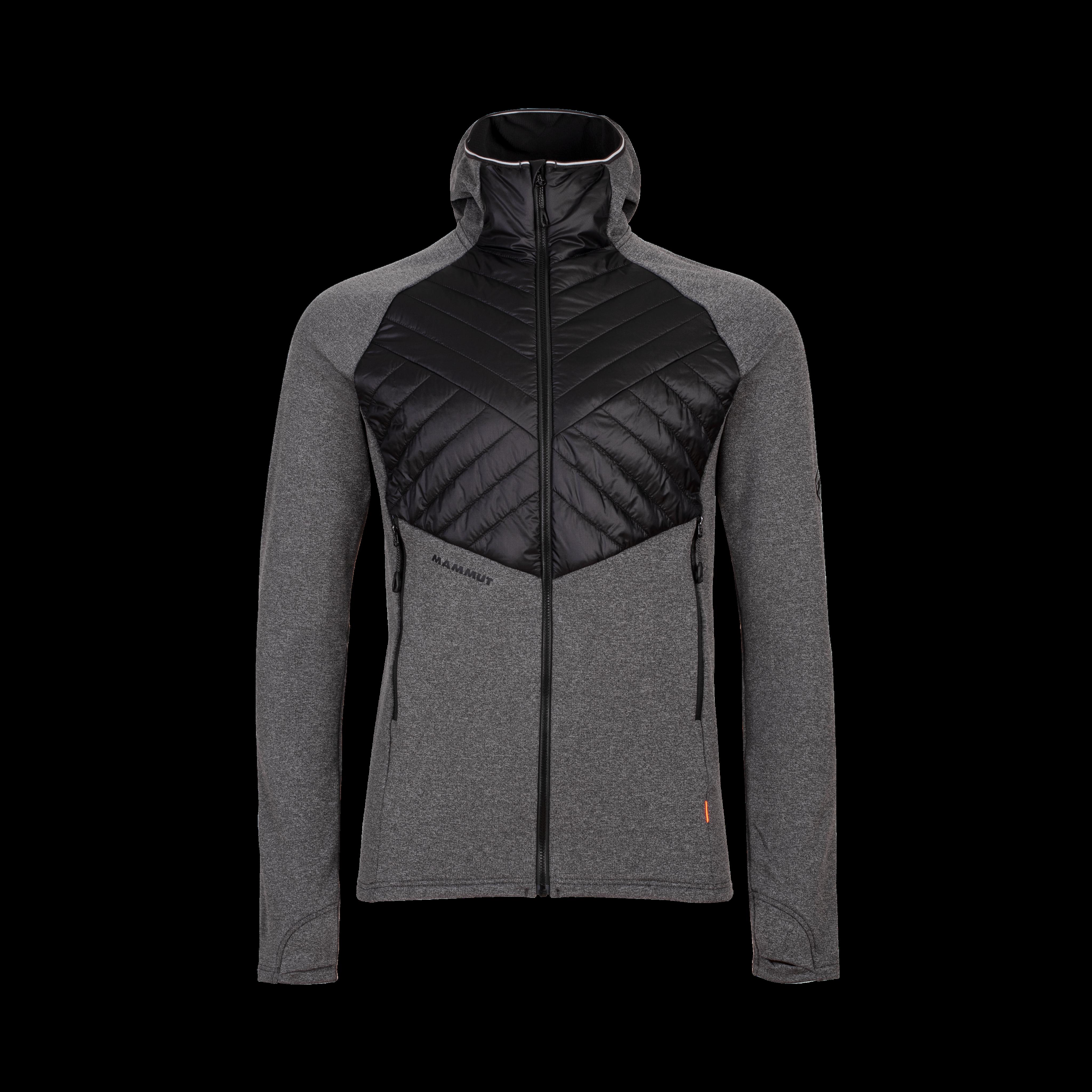 Aconcagua Light Hybrid ML Hooded Jacket Men - black, XL thumbnail
