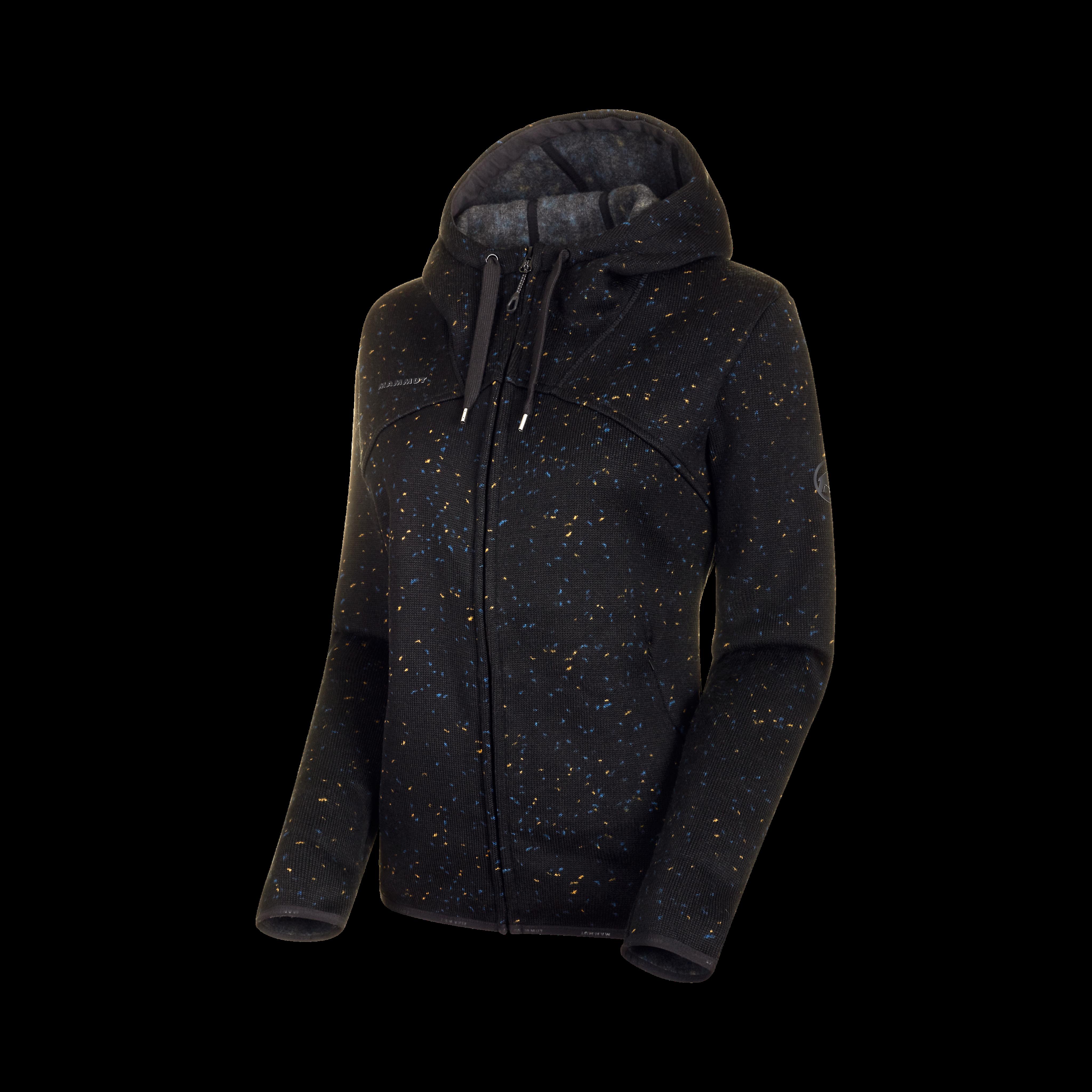 Chamuera ML Hooded Jacket Women - black, L thumbnail