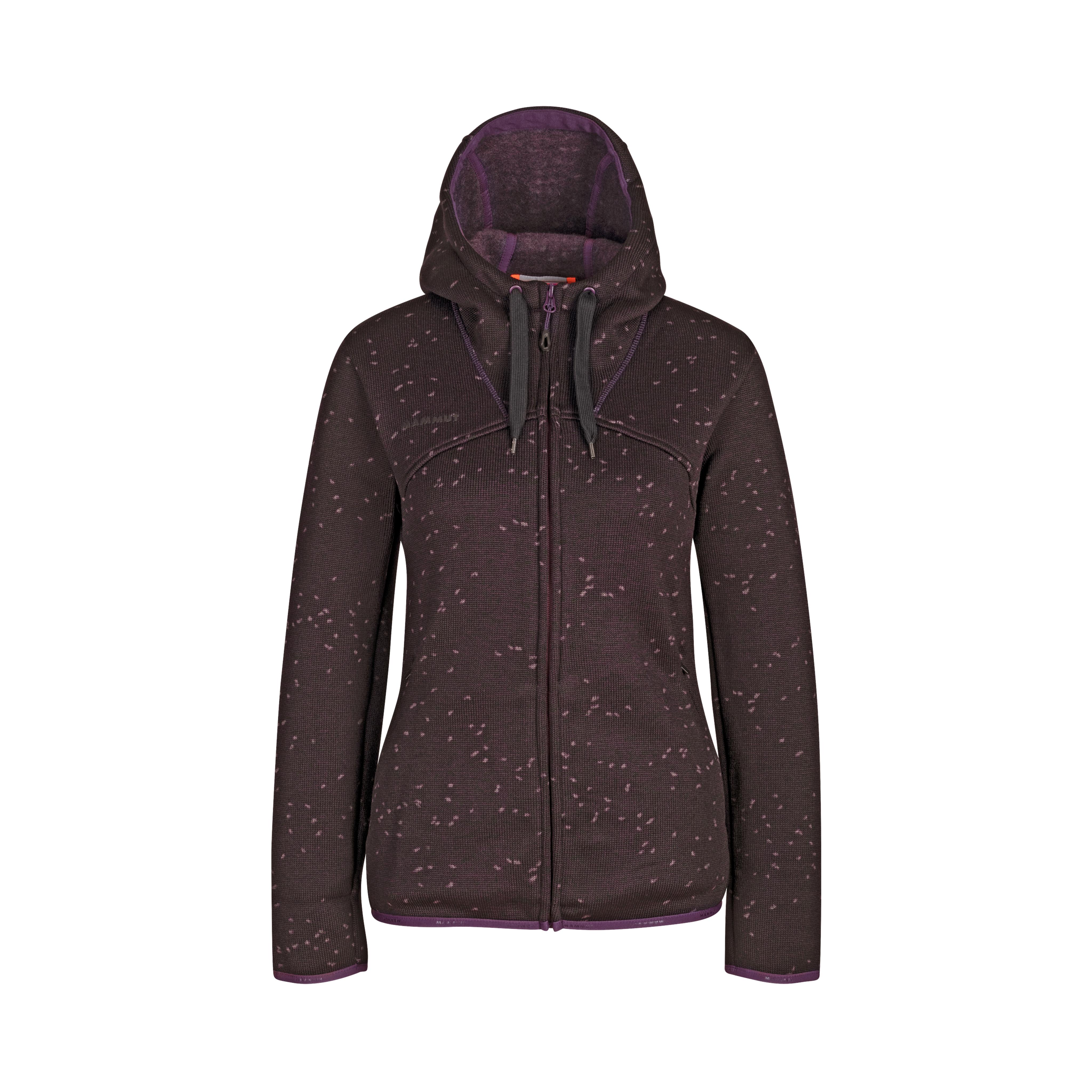 Chamuera ML Hooded Jacket Women - blackberry, S thumbnail