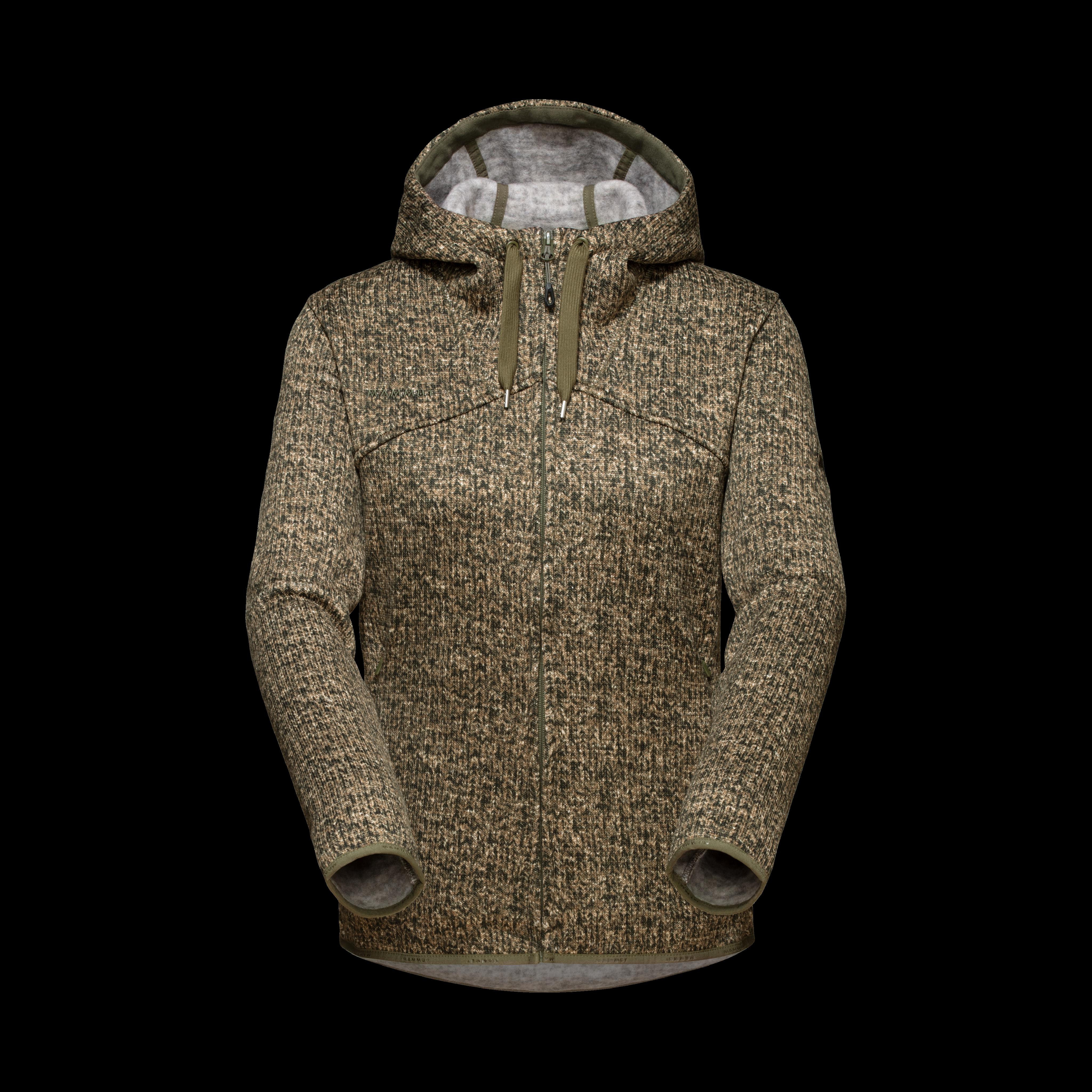Chamuera ML Hooded Jacket Women - iguana, S thumbnail
