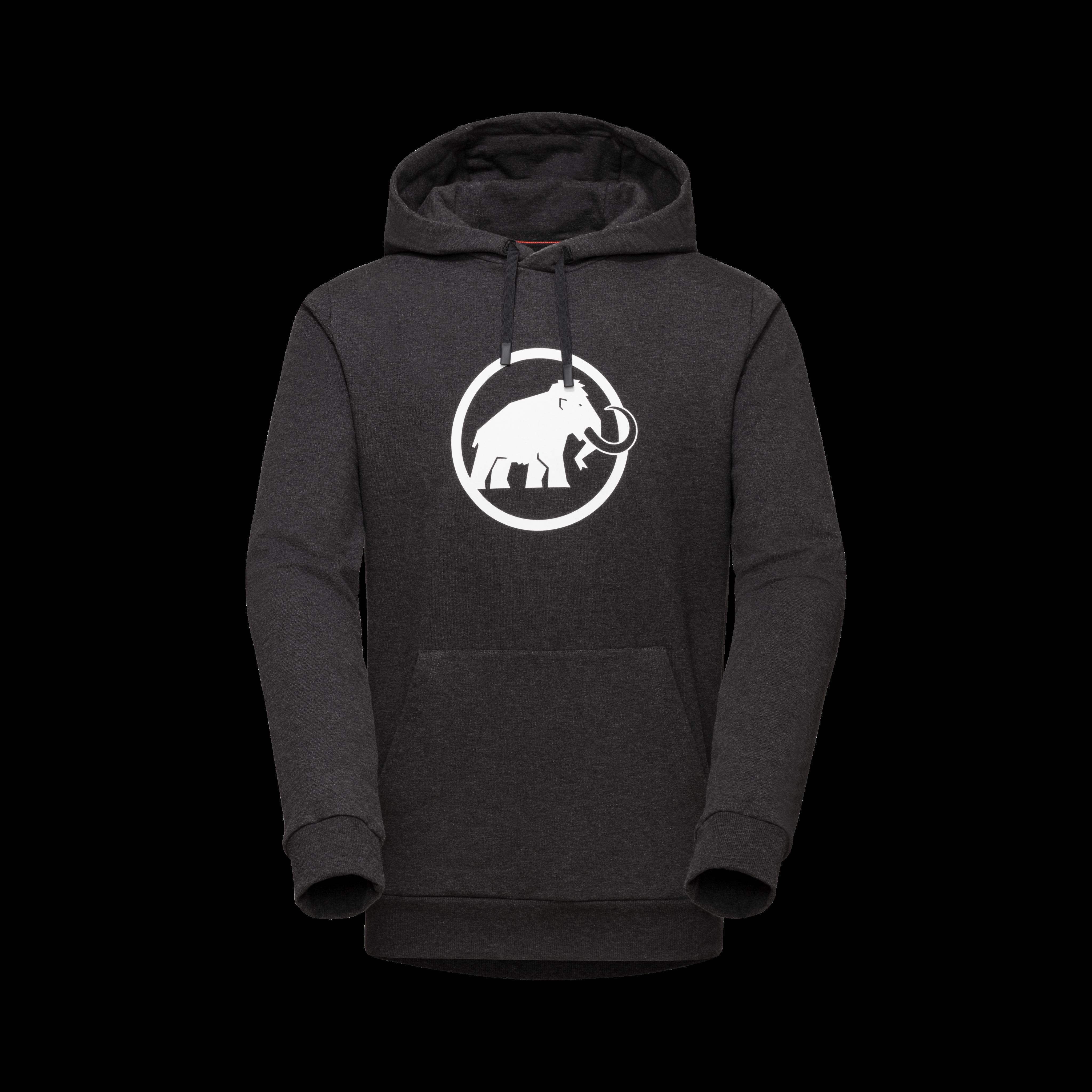 Mammut Logo ML Hoody Men - black melange PRT1, M thumbnail