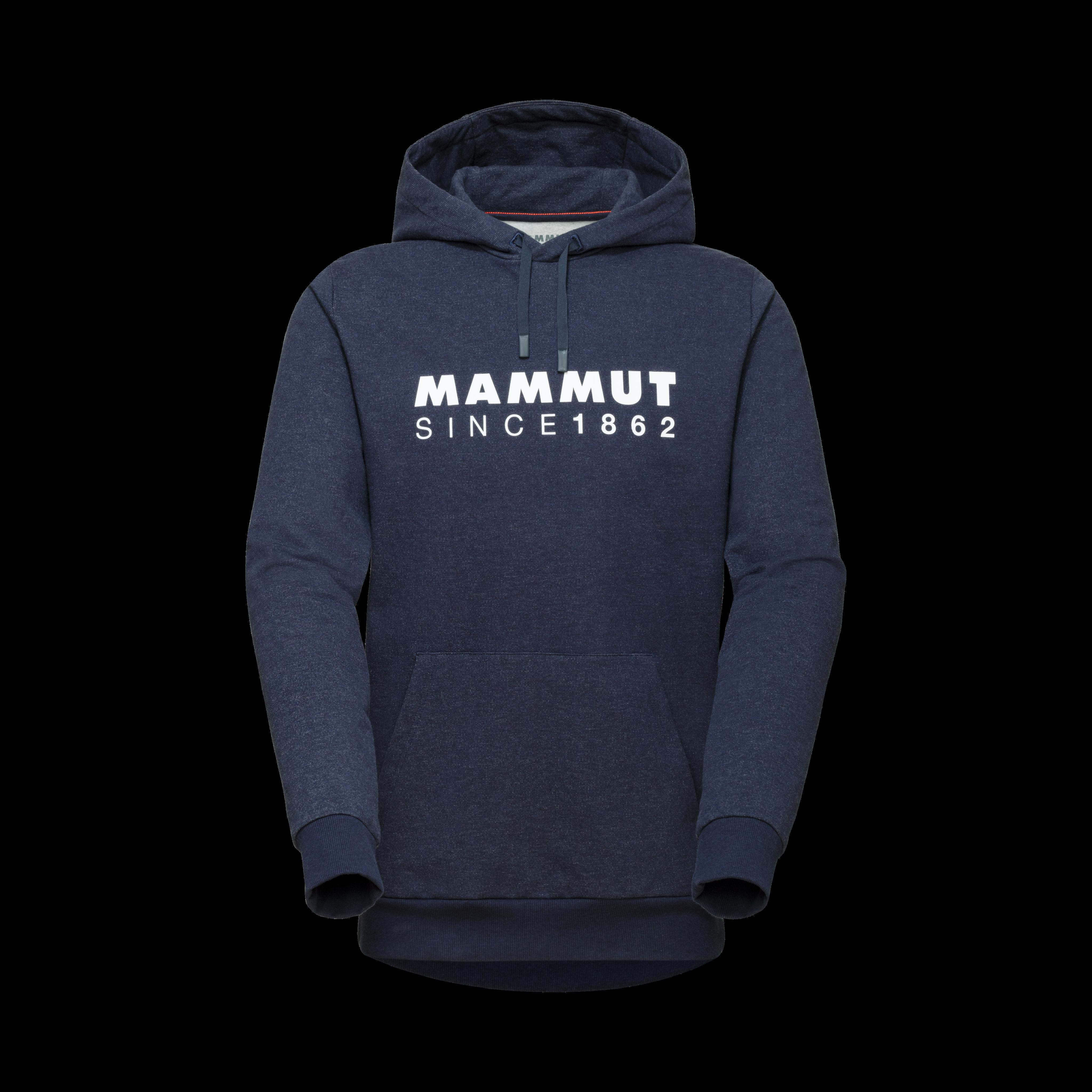 Mammut Logo ML Hoody Men - M, marine melange PRT2 thumbnail
