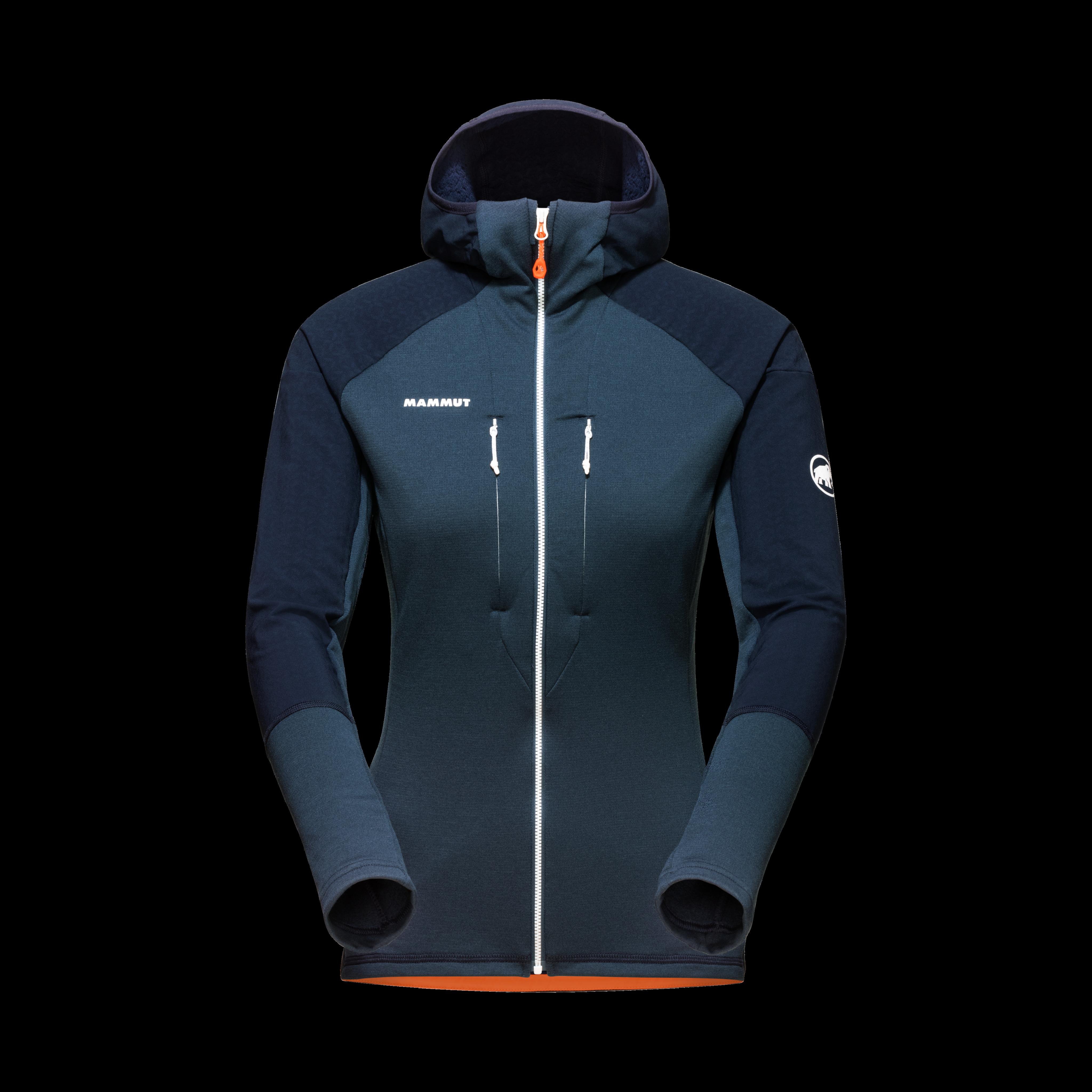 Eiswand Advanced ML Hooded Jacket Women - night, XL thumbnail