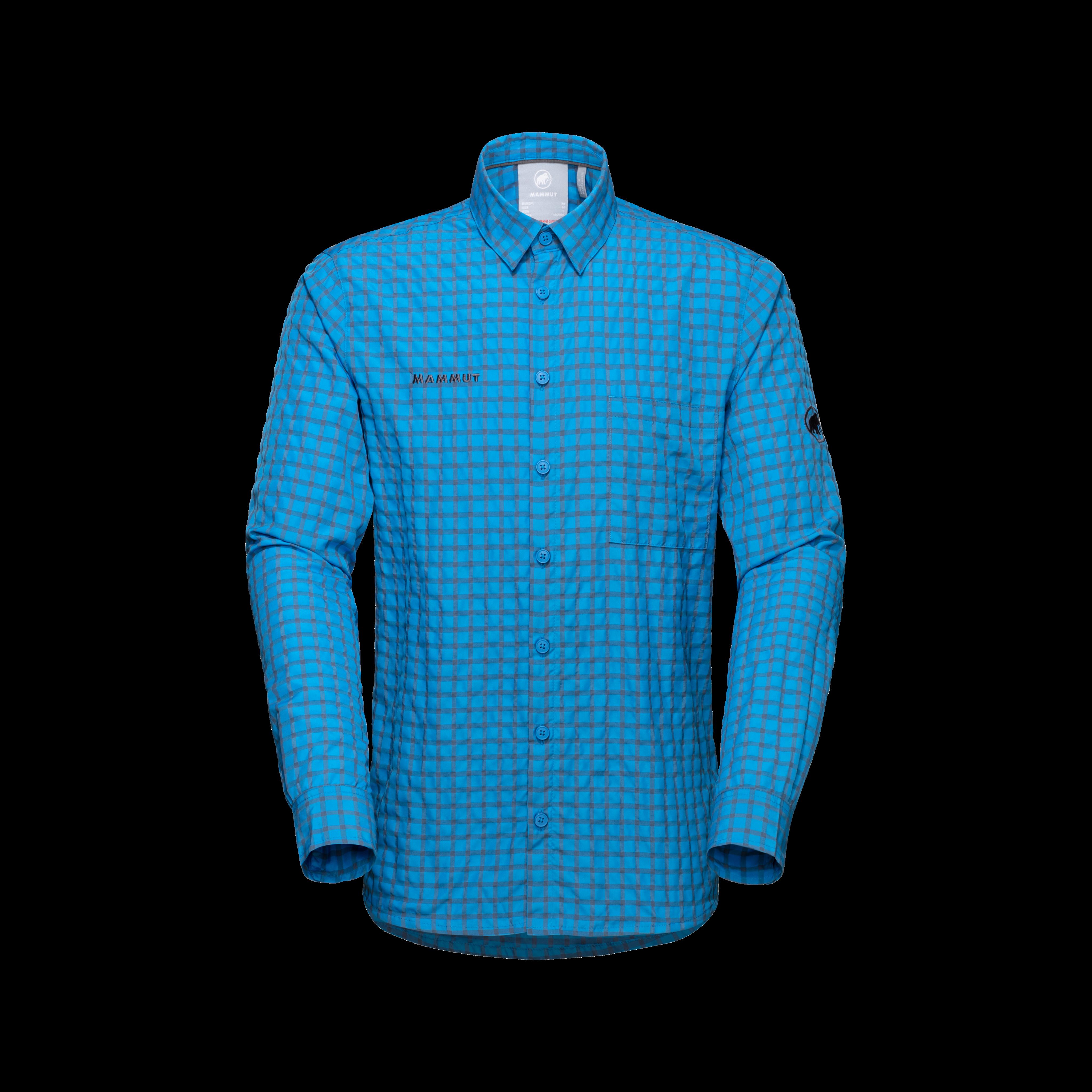 Lenni Longsleeve Shirt Men - gentian-titanium, XL thumbnail