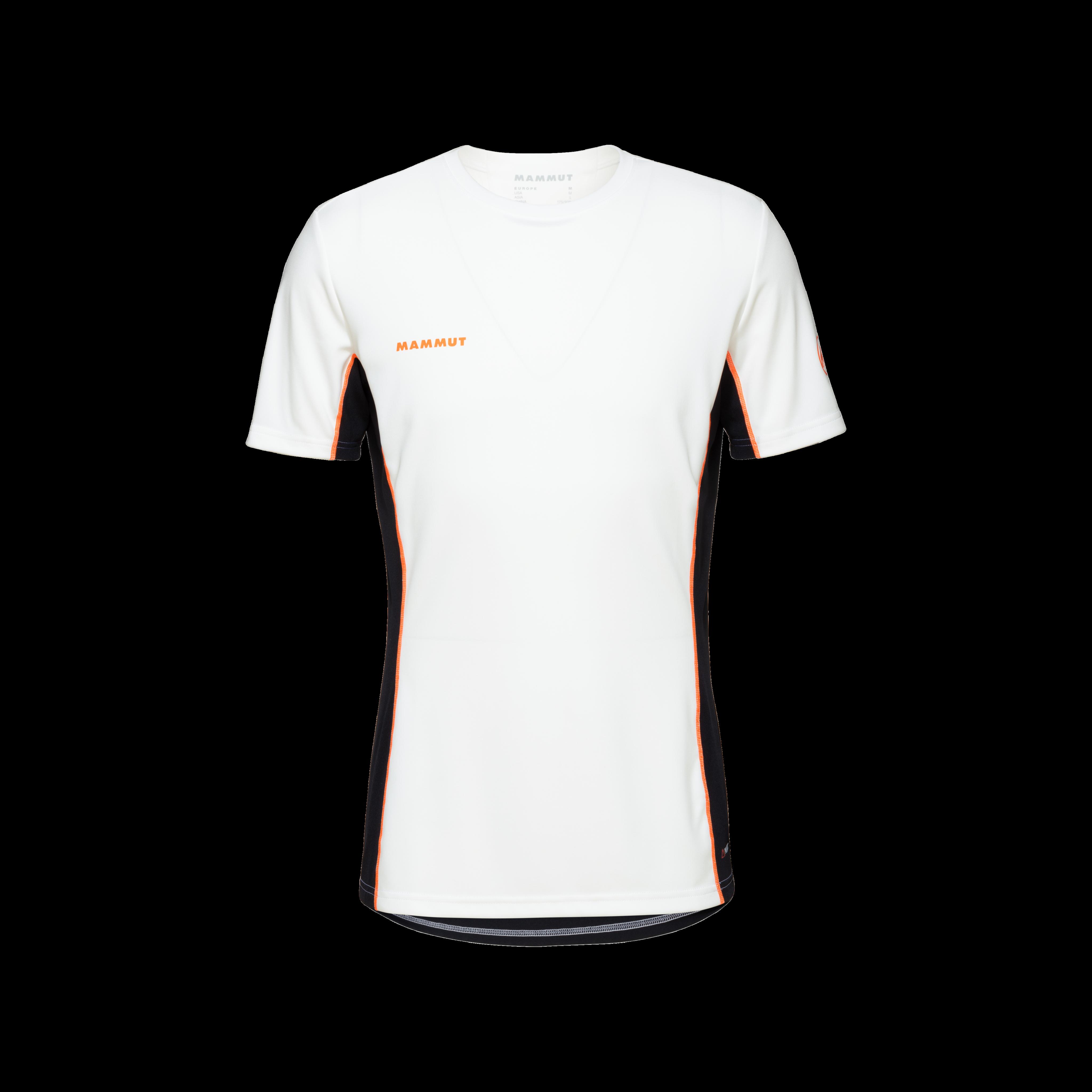 Sertig T-Shirt Men - white-black-vibrant orange, XXL thumbnail