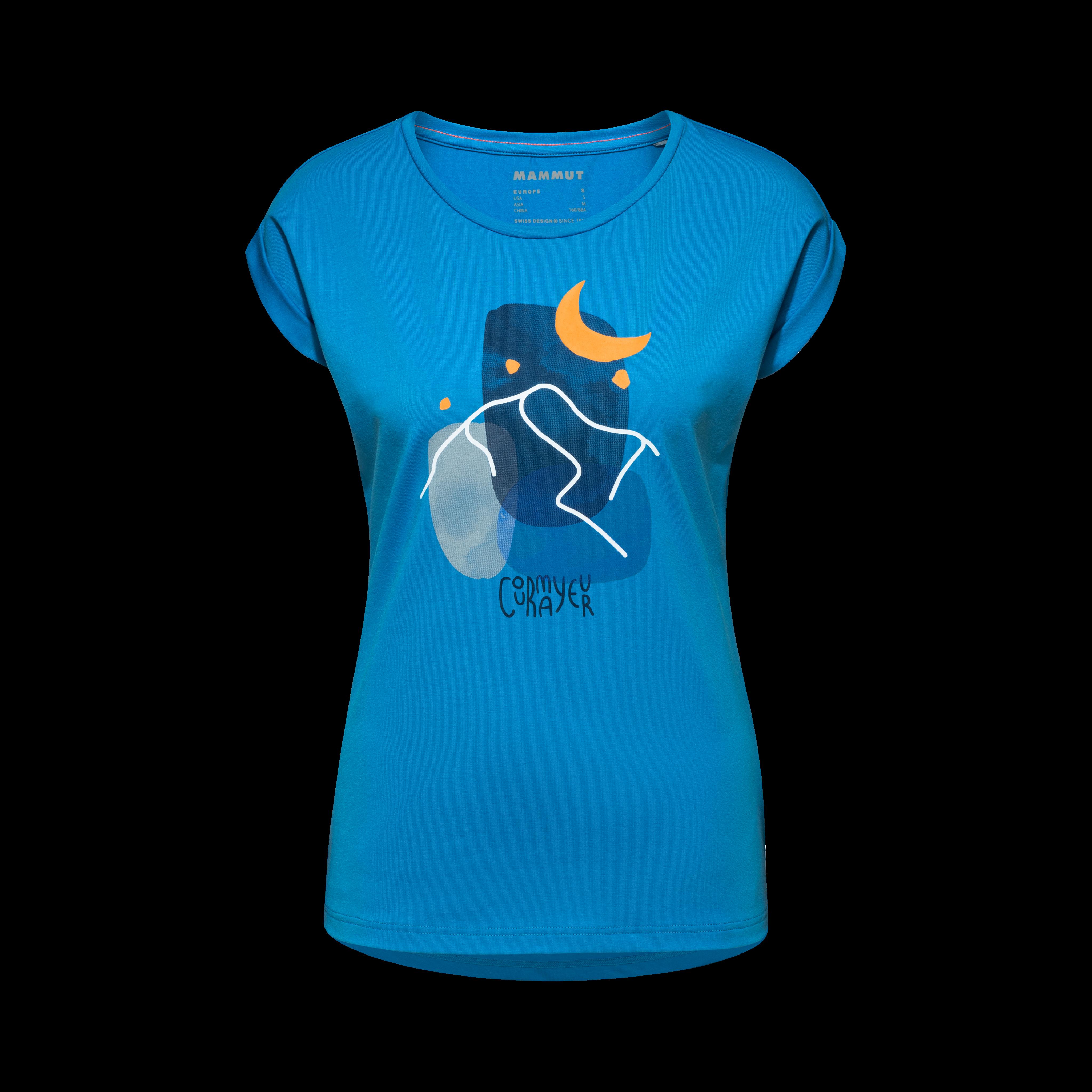 Mountain T-Shirt Women - gentian PRT3, M thumbnail