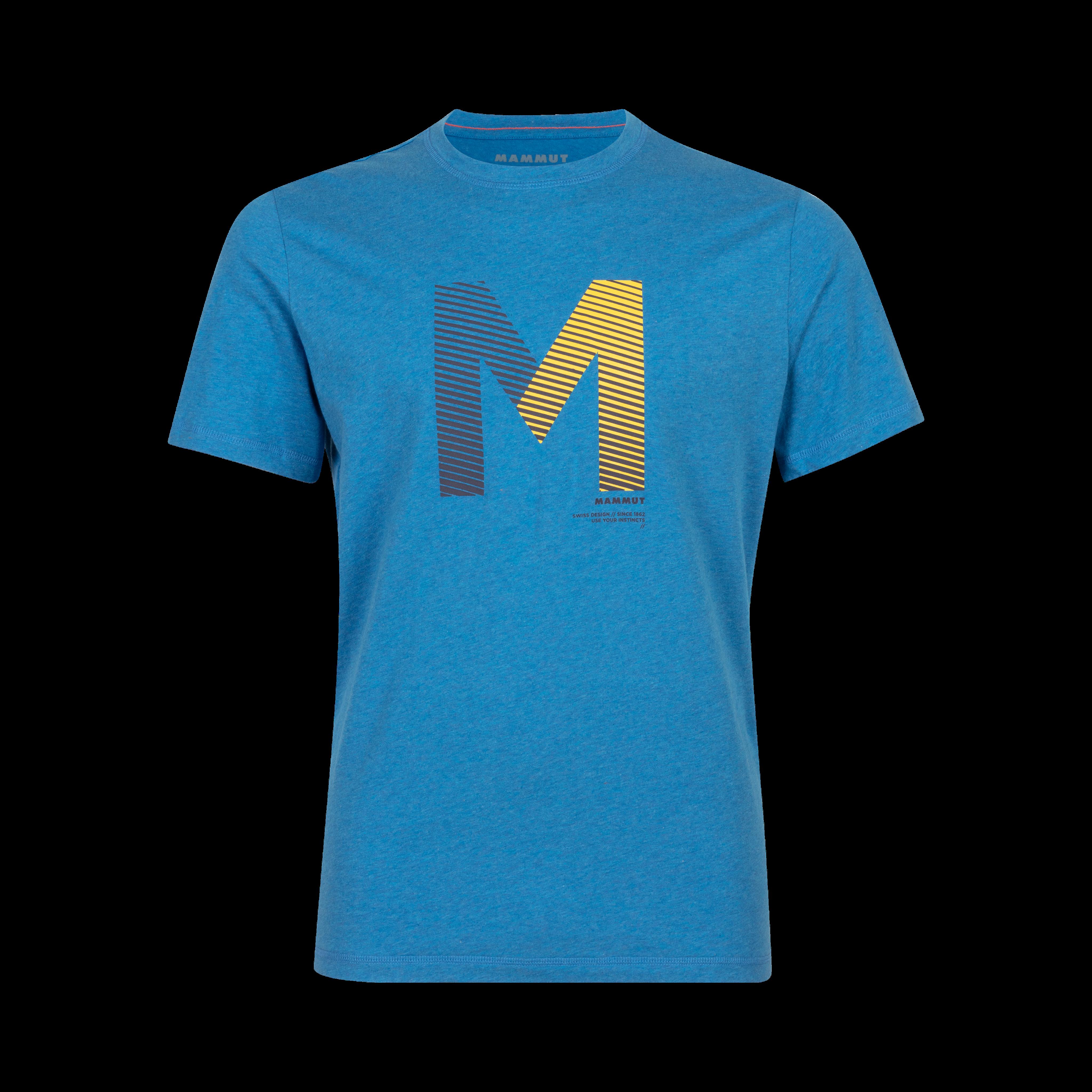 Sloper T-Shirt Men - gentian melange, M thumbnail