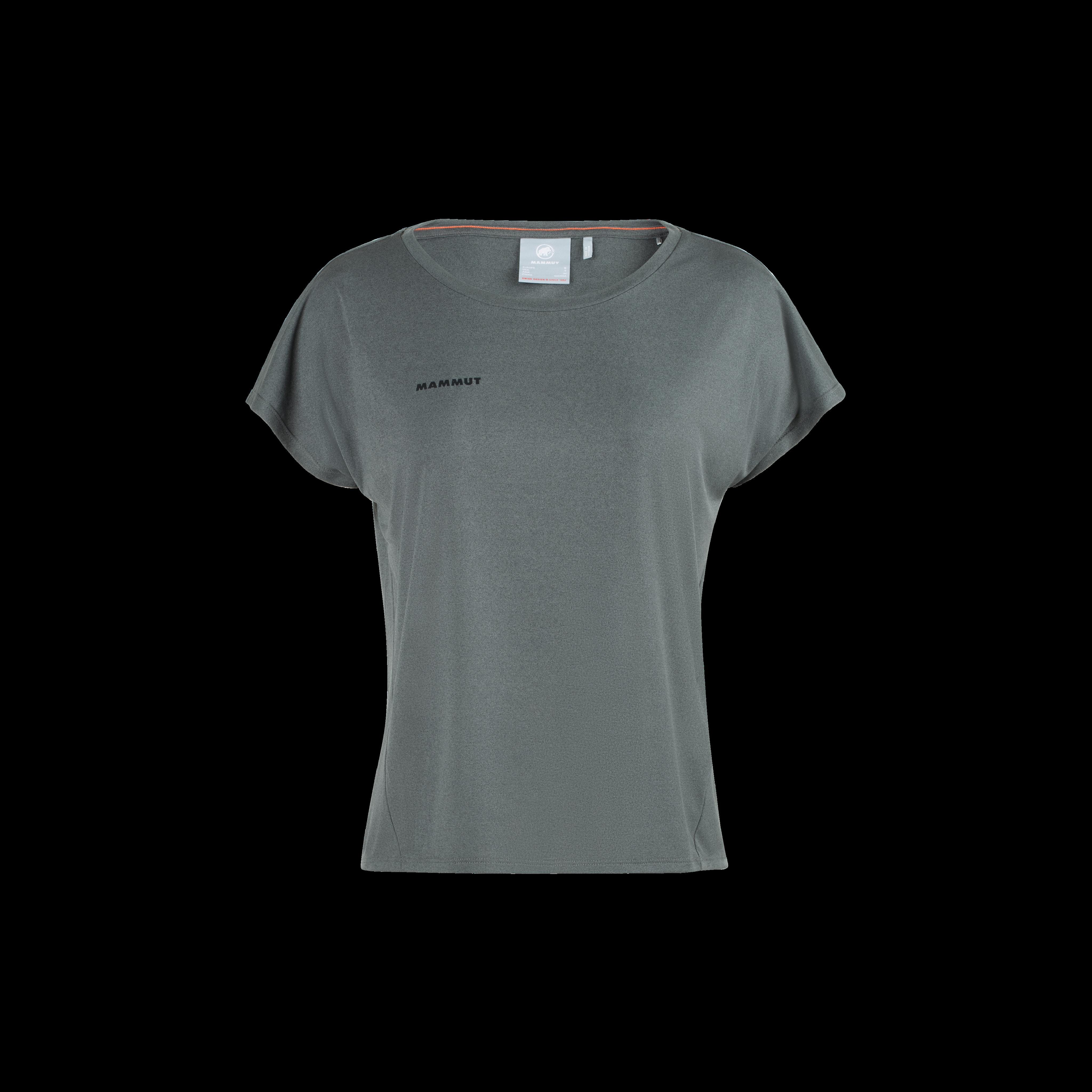 Pali Cropped T-Shirt Women - phantom melange, XL thumbnail