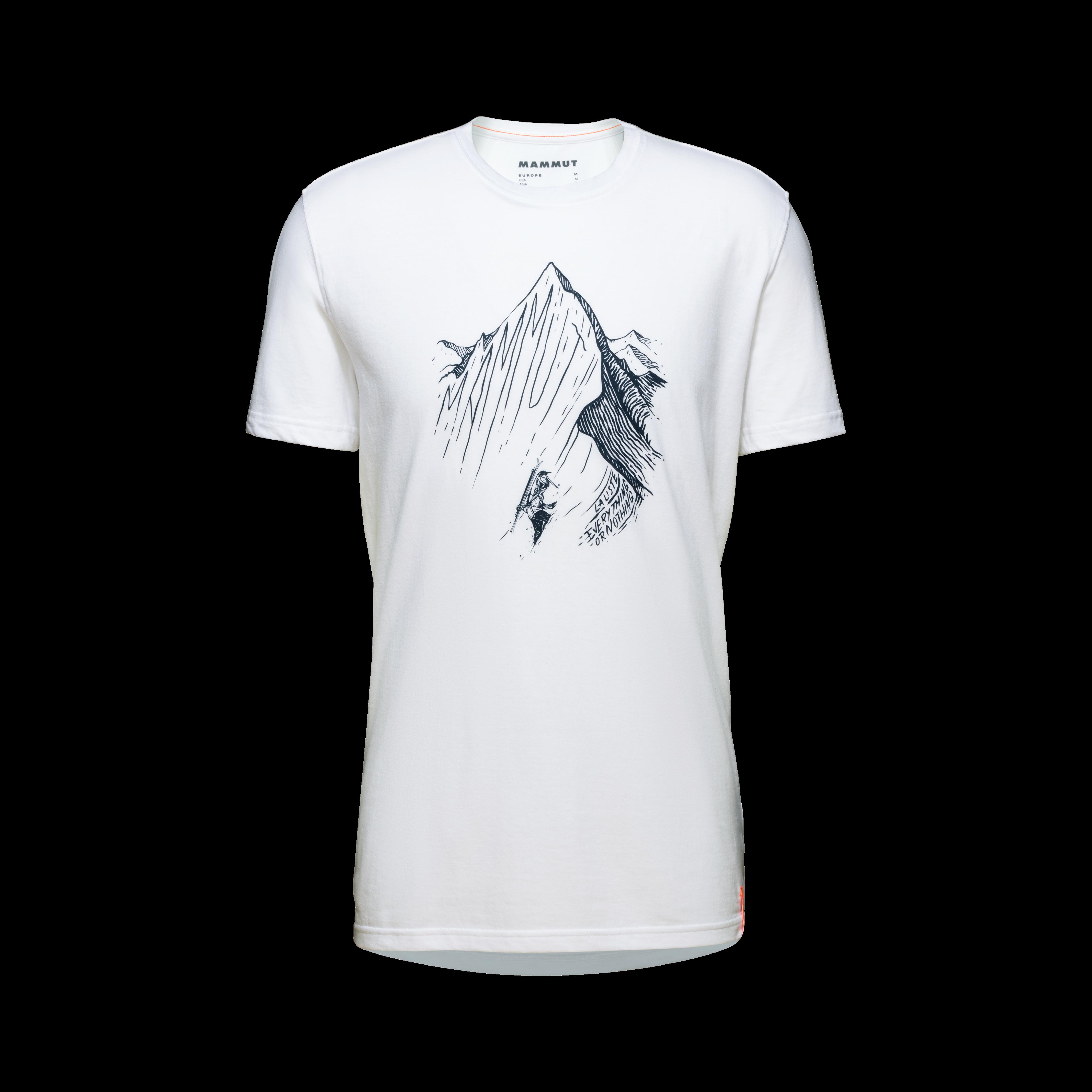 La Liste T-Shirt Men - M, white-marine PRT1 thumbnail