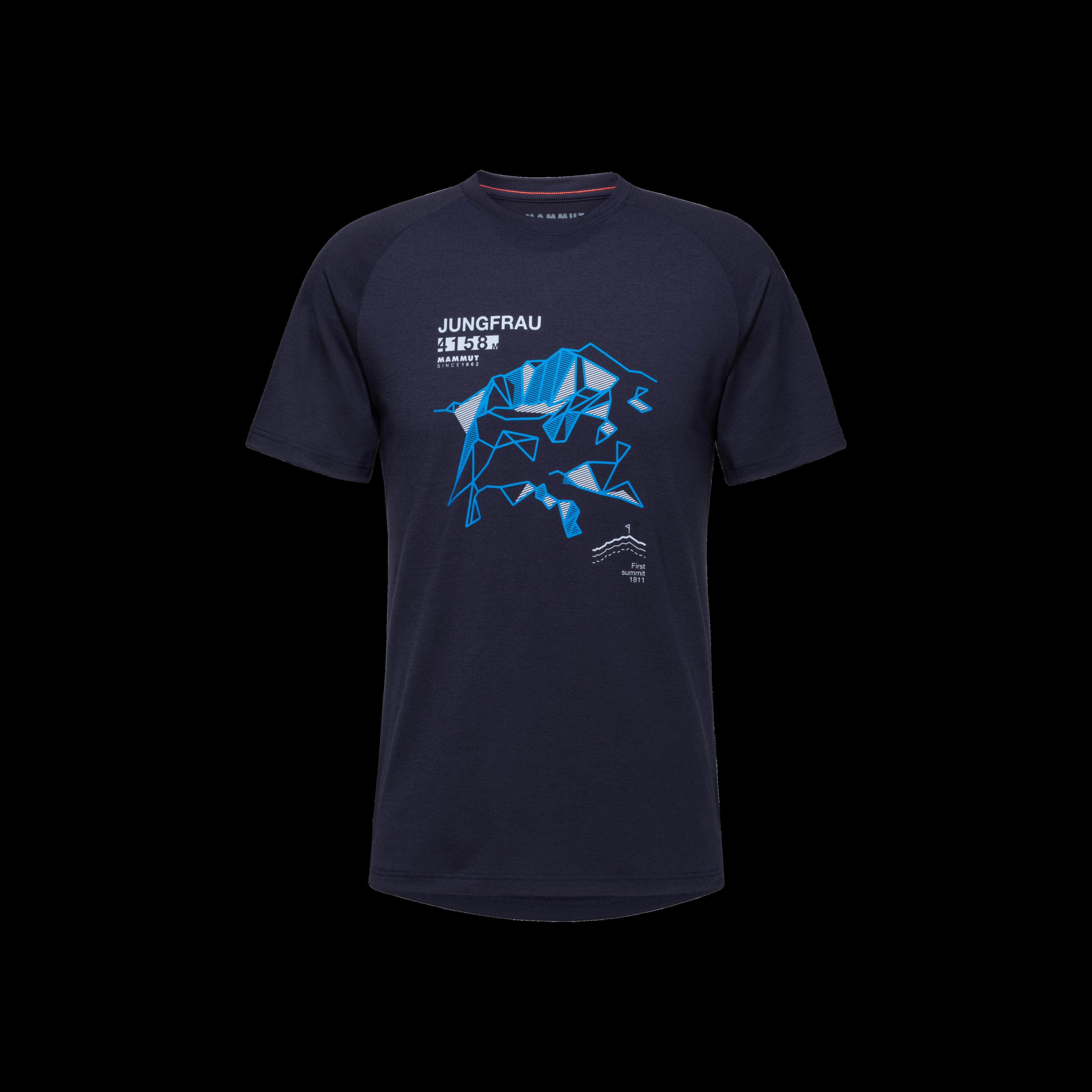 Mountain T-Shirt Men - L, marine thumbnail