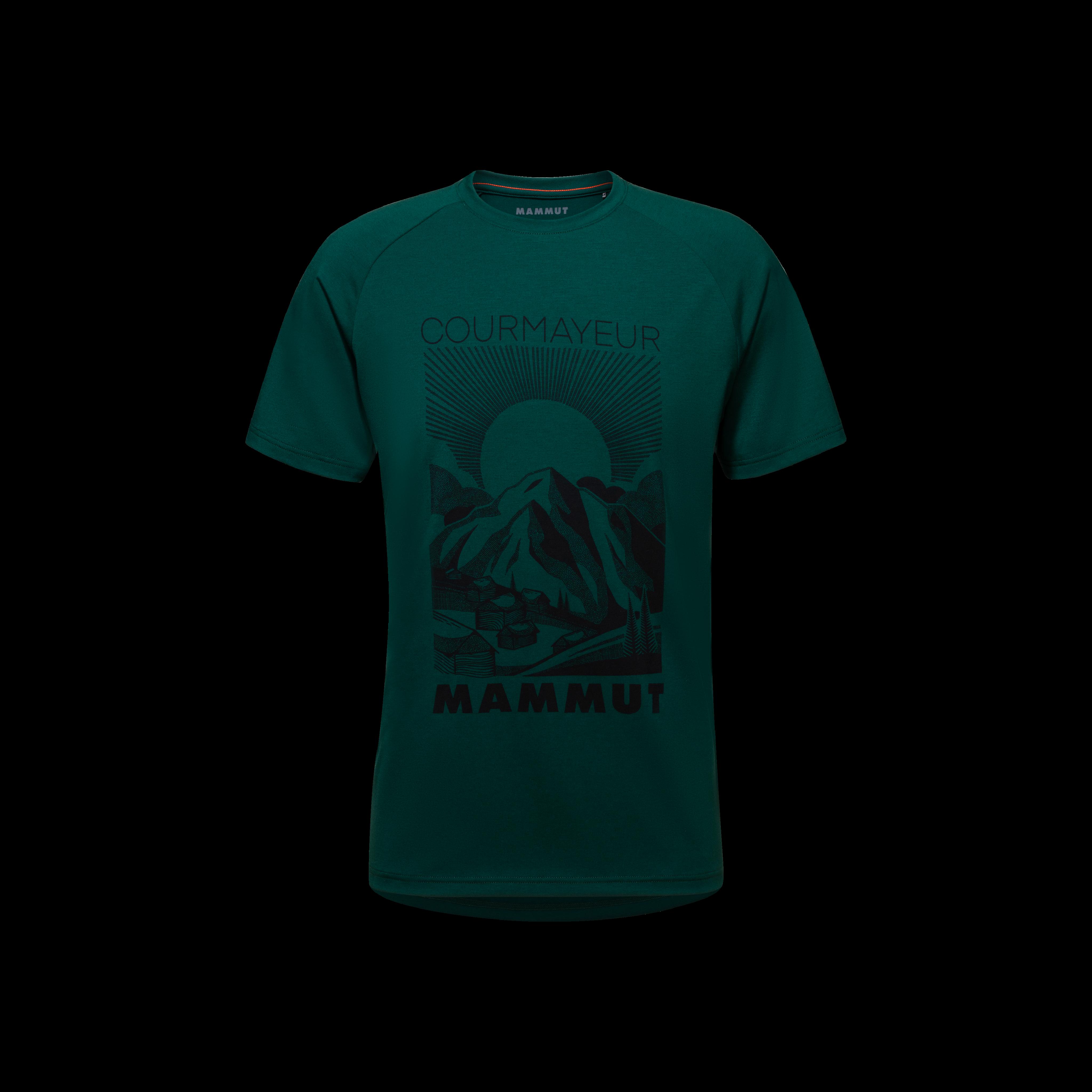 Mountain T-Shirt Men - dark teal PRT3, M thumbnail