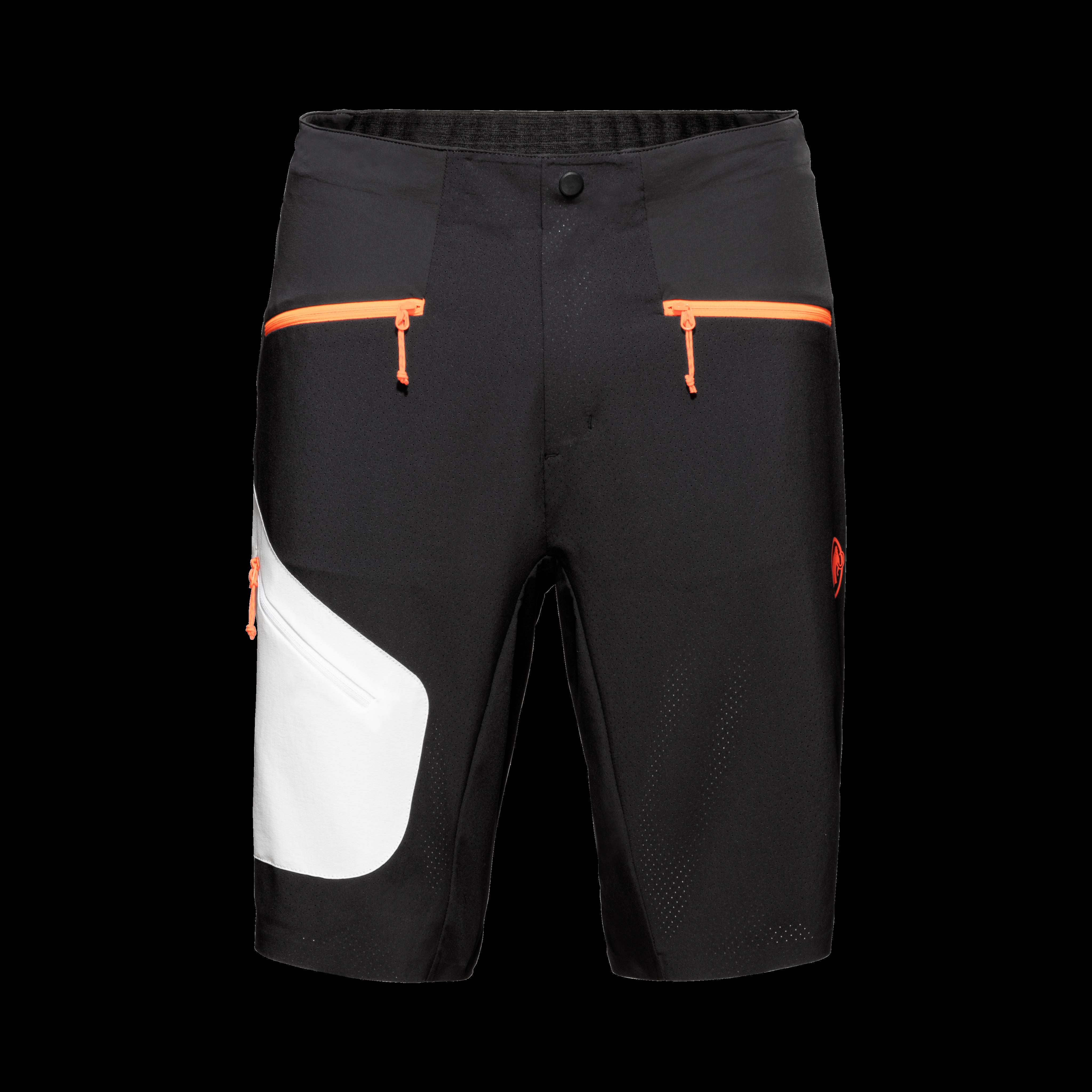 Sertig Shorts Men - black-white-vibrant orange, UK 28 thumbnail