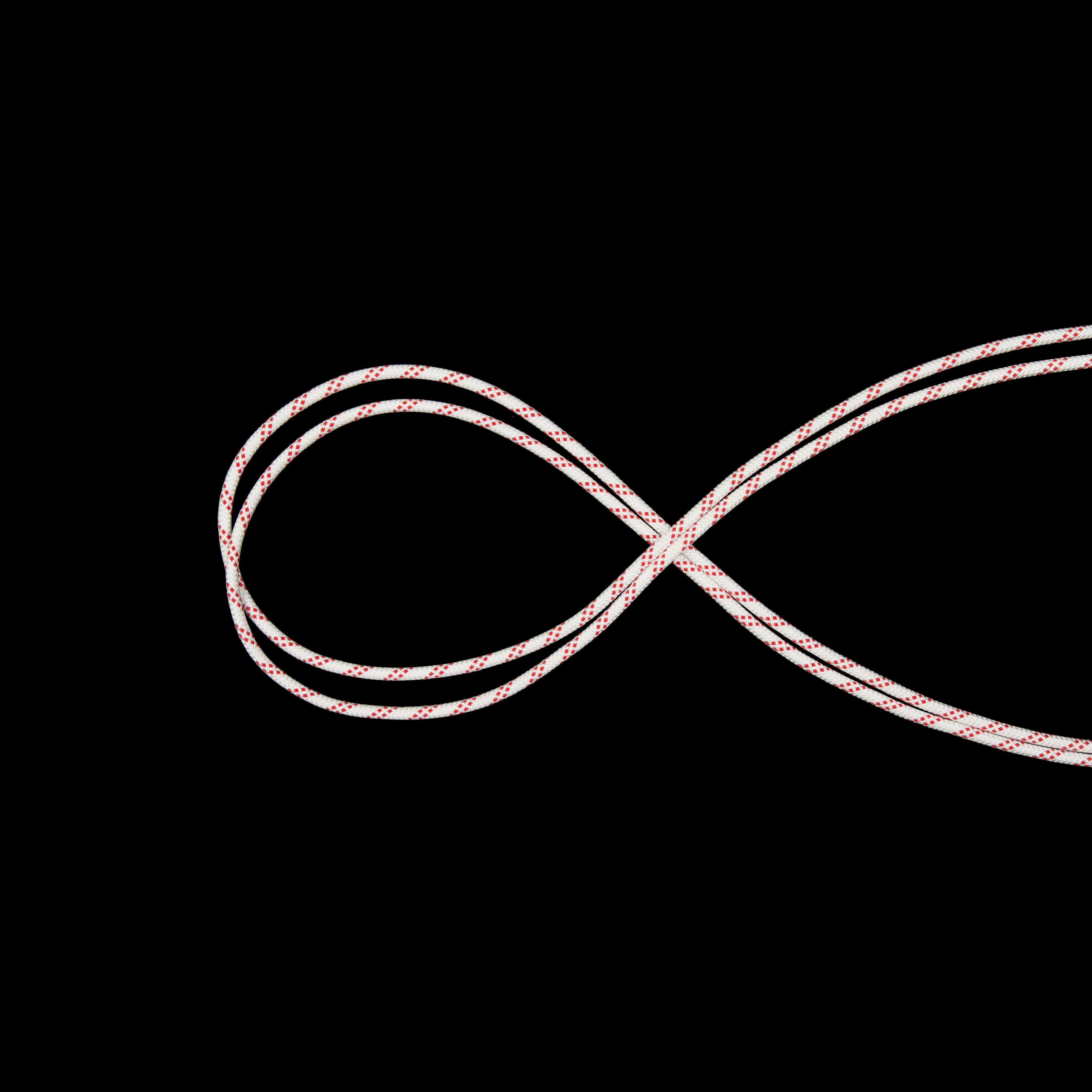 10.0 Performance Static - 50 m, white-red thumbnail
