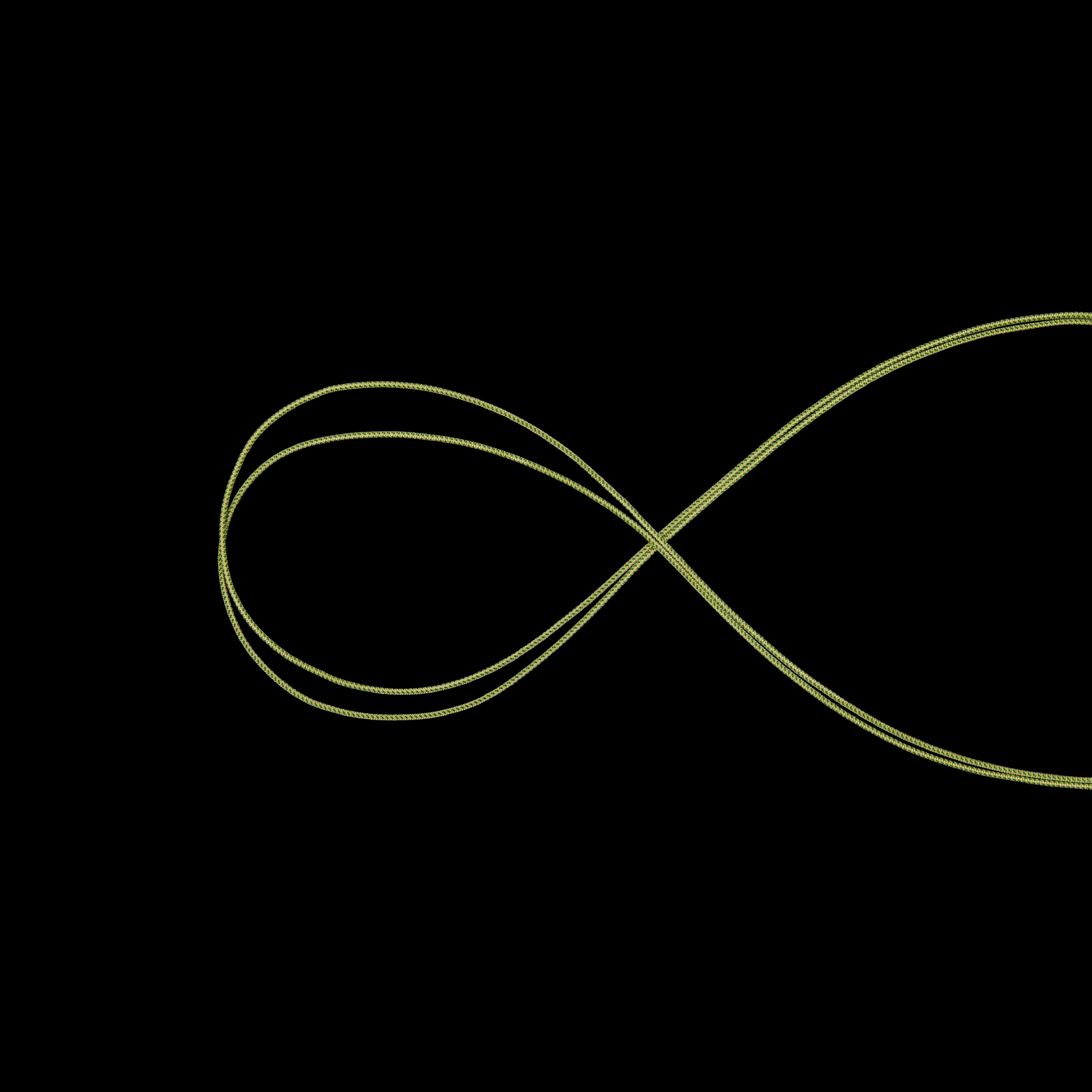 Cord POS - 4 mm, 7 m, green thumbnail
