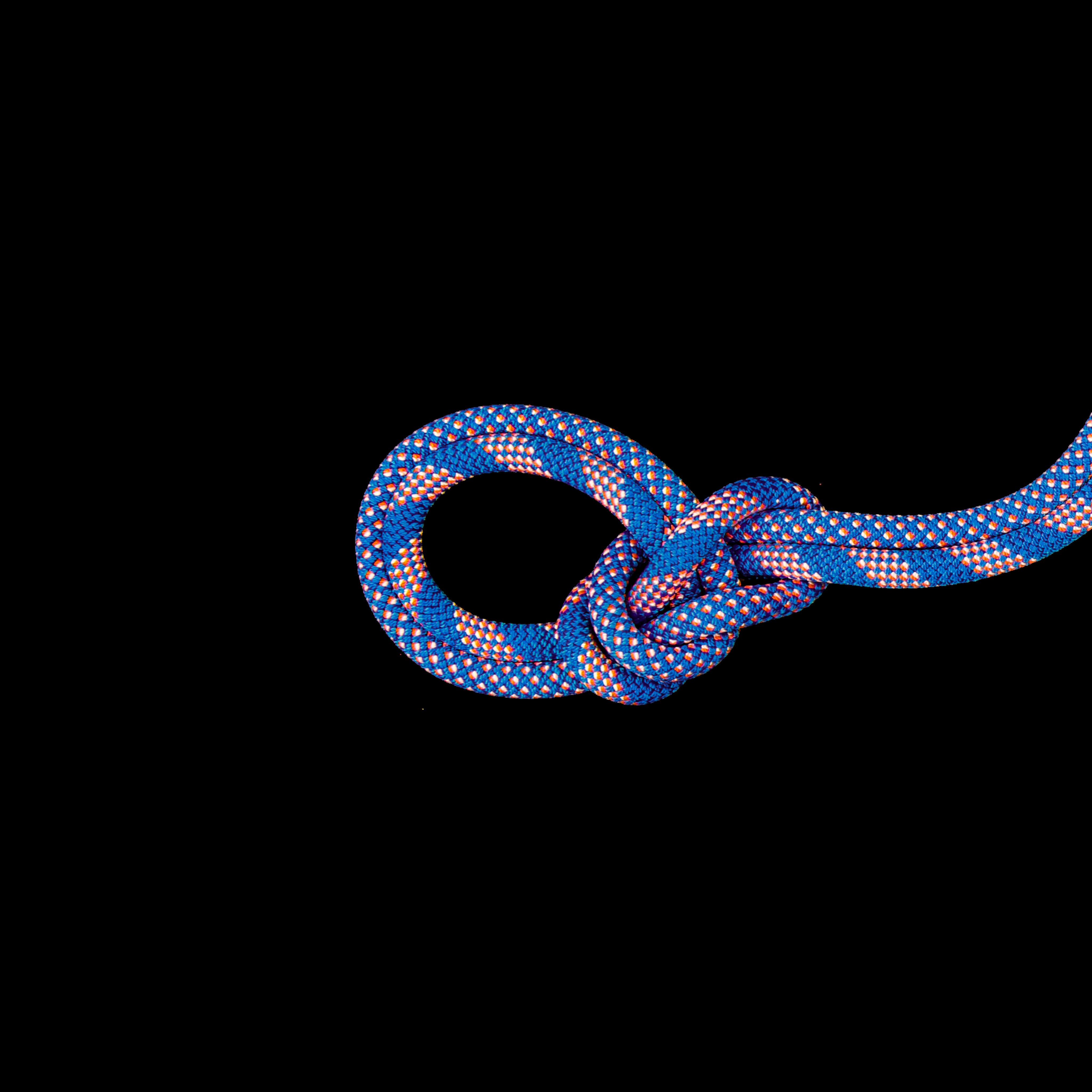 9.5 Crag Classic Rope - 60 m, Classic Duodess, carribean blue-white thumbnail